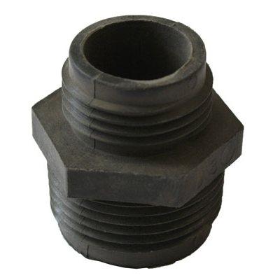 Légère et facile à transporter Robuste et munie d'une poignée de transport intégrée 25 ' cordon avec réducteur de tension Complètement submersible Entrée filetée amovible Pompe jusqu'à 1/8'' Comprend raccord de tuyau de jardin Boîtier en thermoplas