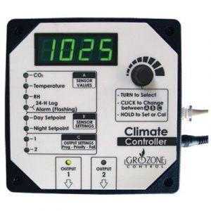 Automatisation, surveillance, contrôle et analyse de la culture à partir du cellulaire Contrôlez tous les aspects de votre salle de culture à partir d'un seul contrôleur programmable - Permet de contrôler automatiquement : luminosité - CO2 - humidité