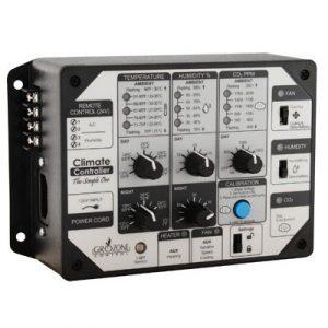 Humidifier, déshumidifier, chauffer, refroidir Modes jour/nuit/24h 0-100% RH / 0-100°C Valeurs de consigne distinctes et enregistrement de données 24h pour chaque capteur
