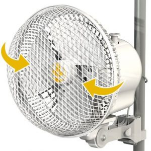 SECRET JARDIN MONKEY FAN VENTILATEUR OSCILLANT 20W 8.25''-0