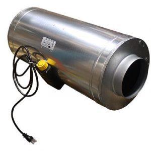 Max-Fan™ intégré et doublure en mousse acoustique pour absorption maximale du son. Max-Fan™ silencieux | Prêt à suspendre | CFM rée
