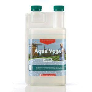 CANNA Aqua Vega CANNA Aqua Vega est un nutriment à action rapide, qui contient tous les éléments essentiels pour une croissance optimale. La croissance est une phase importante car c'est pendant celle-ci que sont posés les jalons d'un rendement élevé e