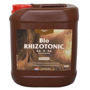 BioRHIZOTONIC est un stimulant racinaire certifié 100 % biologique (OMRI). BioRHIZOTONIC contient plusieurs vitamines différentes, dont la B1 et la B2. Il stimule le développement racinaire (capillaire), les extrémités racinaires et augmente la résistance