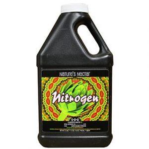Azote Nectar de la Nature 5-0-0 Nutriment à base organique pour la production commerciale d'aliments et de fruits. Dérivé de l'hydrolysat de protéine.Utilisez 1 1/2 cuillères à café par gallon d'eau. L'analyse minimale garantie est l'azote (N)
