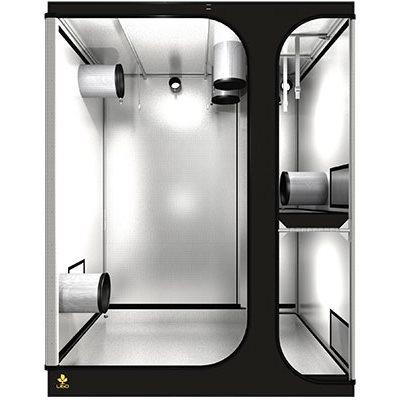 Station de culture pour les espaces bas Inclut chambre de croissance 2/3 étages et chambre de floraison Diamètre des barres de Ø16 mm et toile indéchirable 190D Accessoires inclus (cableIT - hookIT - strapIT)