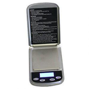 BALANCE DE POCHE NUMÉRIQUE MAX:500 G / GRAD:0.01 G-0