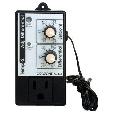 Thermostat de refroidissement • Facile d'utilisation : consignes jour et nuit • Contrôle électronique précis : sonde externe • Durée de vie des équipements maximisée : différentiel ajustable • 120V 12A