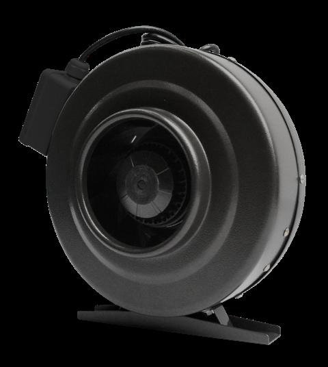 Vortex VTX Powerfans Ventilateur en ligne à rendement élevé. Construction industrielle en acier recouvert de poudre cuite. Plusieurs grandeurs variant de 4 à 12 po. Vitesse contrôlable, moteur équilibré et roulement à billes lubrifié de façon permanent