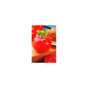 Nom du produit: Tomate - rouge Nom latin: Solanum lycopersicum Description variété: Une belle grosse tomate côtelée bien en chair, goûteuse et juteuse. Parfaite pour les sandwichs, les salades et les coulis. Port plant: Déterminé Maturité (jours):