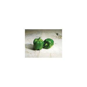 Nom du produit: Poivron doux Nom latin: Capsicum annuum Description variété: Très uniforme et productif. Belle couleur lilas qui attire l'attention. Maturité (jours): 68 Couleur: Ivoire à lilas brillant Dimension fruit (cm): 10 X 9,5 Horti-tru