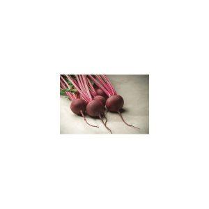 Nom du produit: Betterave Nom latin: Beta vulgaris Description variété: JARDINIER URBAIN. Pour un ensemble original, semez plusieurs rangs de ce mélange de betteraves. Vous obtiendrez de belles racines rouges, jaunes et striées rouges et blanches. M