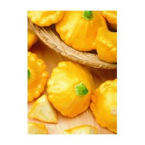Nom du produit: Citrouille Nom latin: Cucurbita pepo Description variété: JARDINIER URBAIN. La variété Windsor produit des fruits ronds aplatis, orange striés de blanc. De la grosseur d'une balle de balle molle sur une vigne qui s'étend de 80 à 90 cm. U